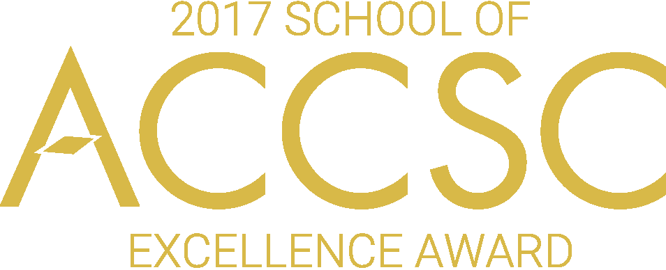 2017 School of Excellence Award - ACCSC