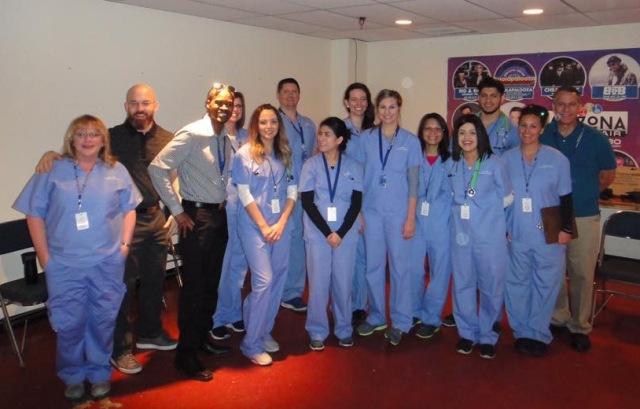 WCUI Gives Back Alumni Group
