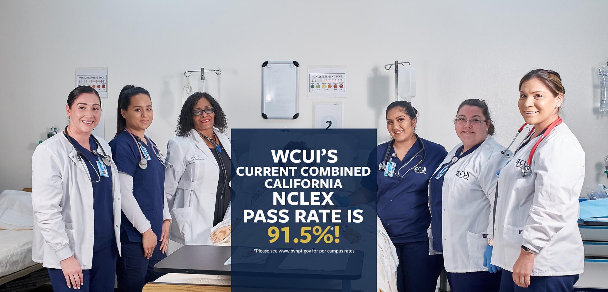 WCUI NCLEX Passrate 2019