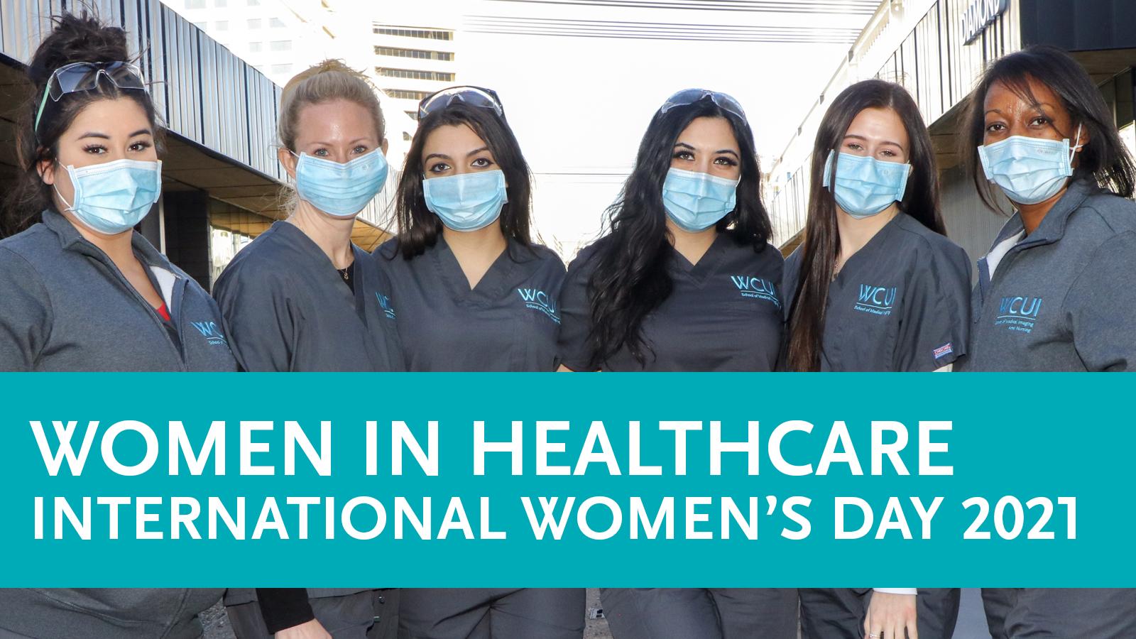 Women in Healthcare - International Women's Day 2021
