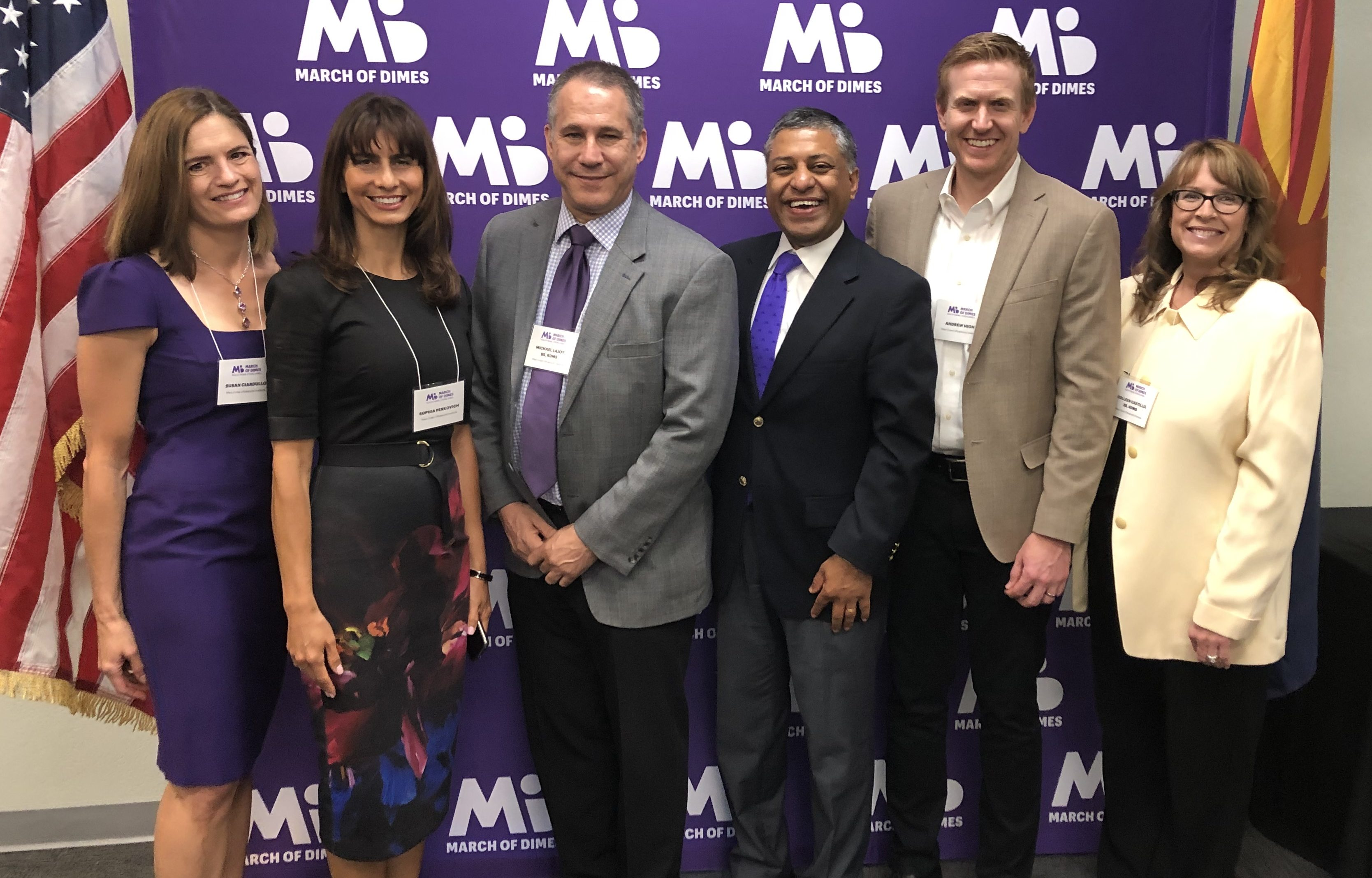 WCUI sponsors the March of Dimes/Arianna's Law signing event in Arizona